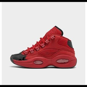 The new red & black Iverson brand new!